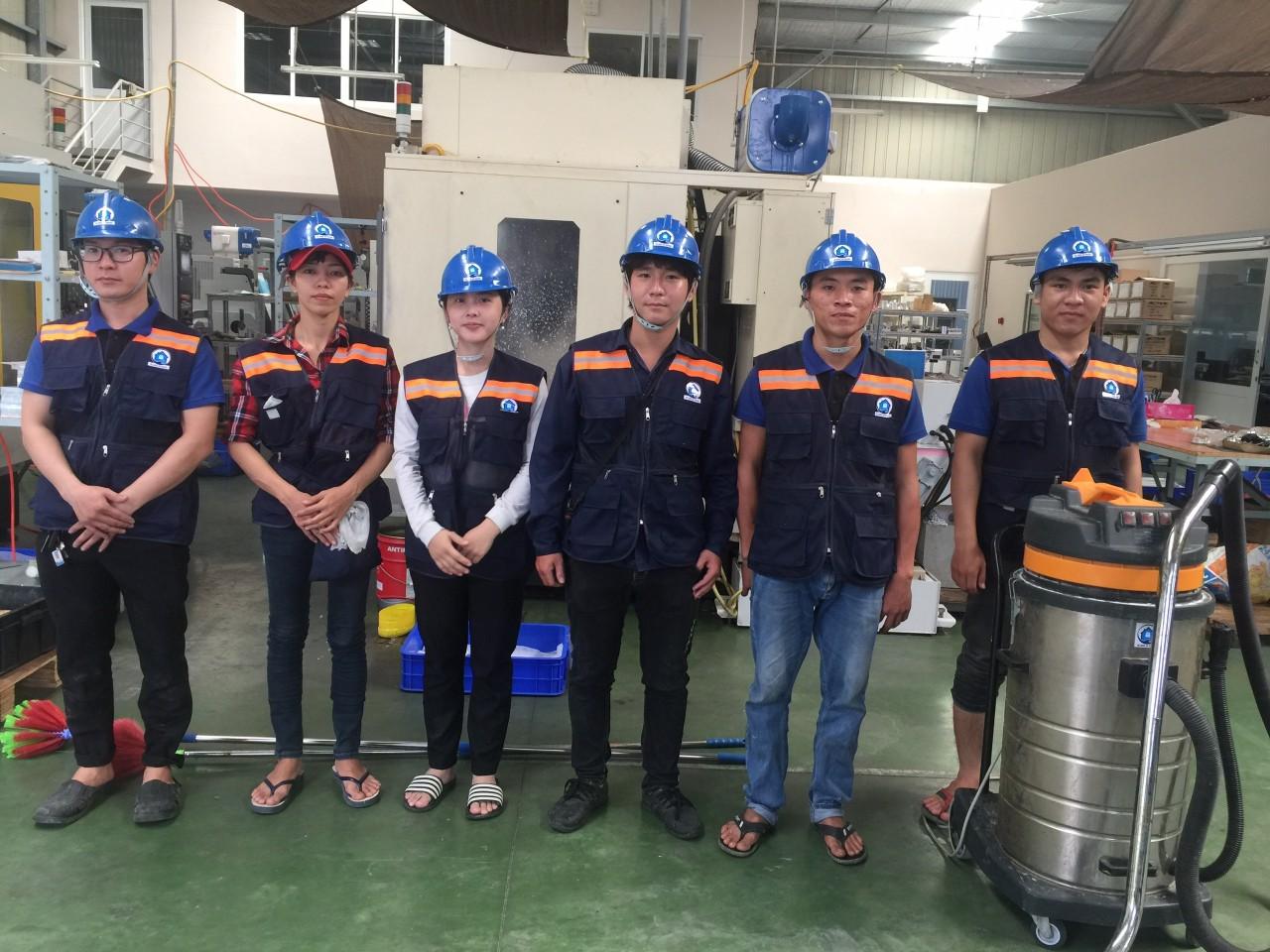 công ty vệ sinh công nghiệp An khang